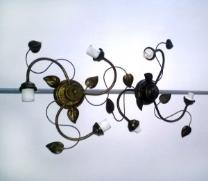 LAMPA SUFITOWA 3-PUNKTOWA GOLDTREN