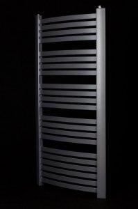 Grzejnik łazienkowy Kermit 58x160 drabinka grafit