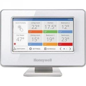 Zestaw startowy Honeywell Evohome (sterownik+stojak+moduł przekaźnikowy+zasilacz)