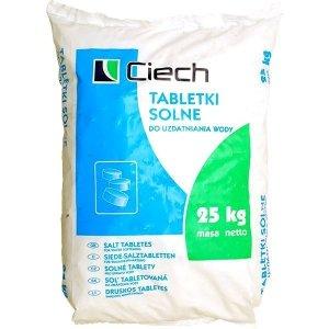Ciech sól 25 kg tabletki do zmiękczacza pastylki