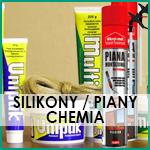 Silikony / Piany / Chemia