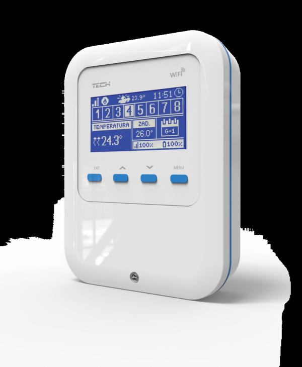 Tech WiFi 8S moduł do sterowania grzejnikami przez internet