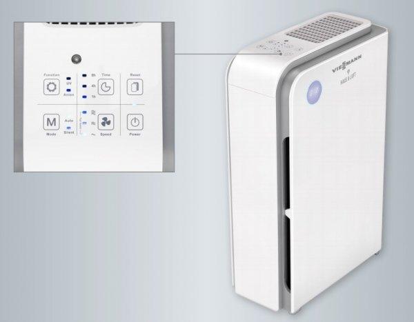Oczyszczacz powietrza antywirusowy jonizacja UV Viessmann HL-OP-15 smog