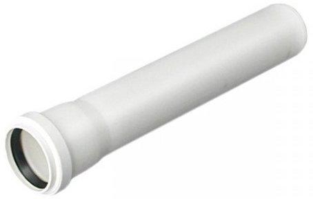 Rura kanalizacyjna PCV Fi 32 - 100cm biała