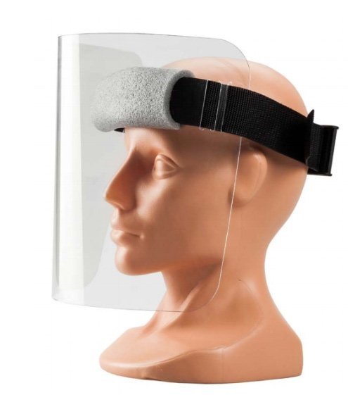 Przyłbica ochronna twarzy maska poliwęglan