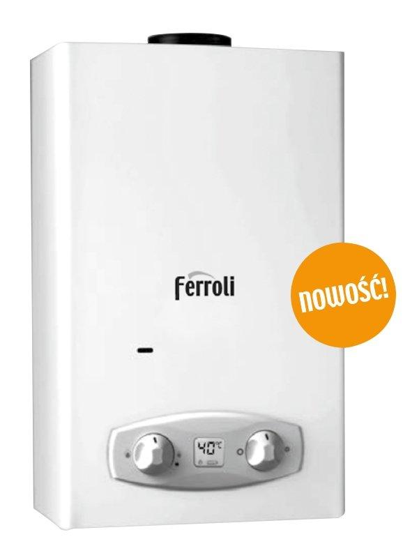 Ferroli Zefiro C11 Eco gazowy podgrzewacz wody