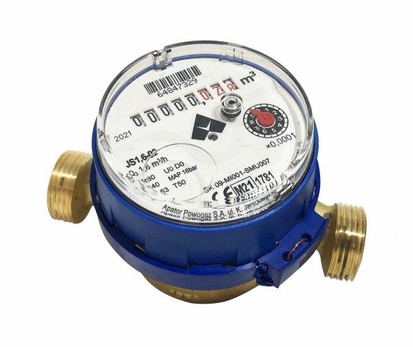 Apator wodomierz licznik zimnej wody 3/4 JS 4,0