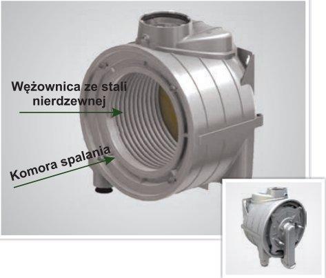 Termet kocioł gazowy Ecocondens Silver 20 kW 2-funkc