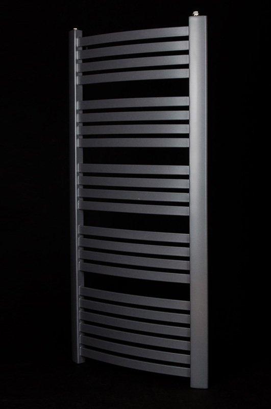 Grzejnik łazienkowy Kermit 58x180 drabinka grafit