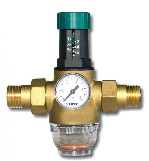 """Herz reduktor ciśnienia wody 3/4"""" membranowy"""