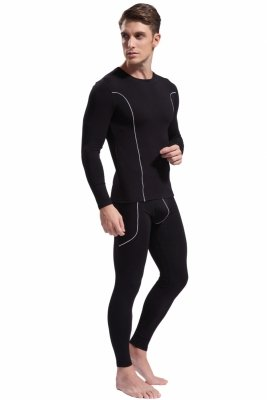 Men`s thermal set WJ Bamboo Black
