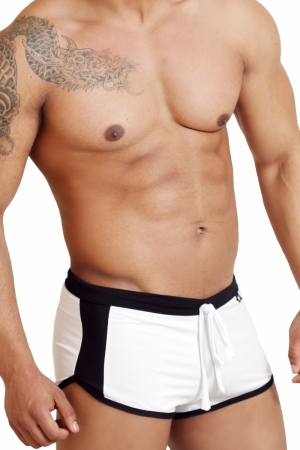 Boxerky WJ 308 White Trunks