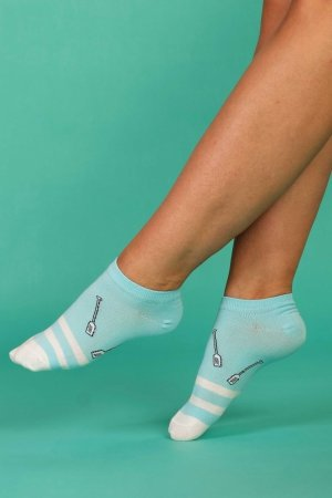 Supa! Sox! Blue Fun ladies socks
