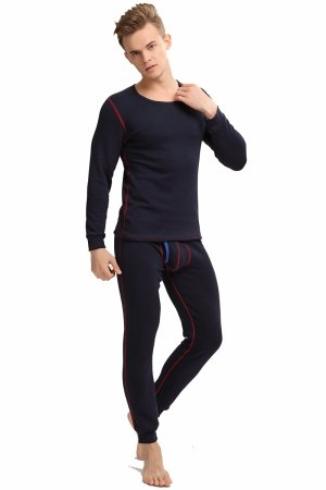 Men`s thermal set MIBOER Soft Navy