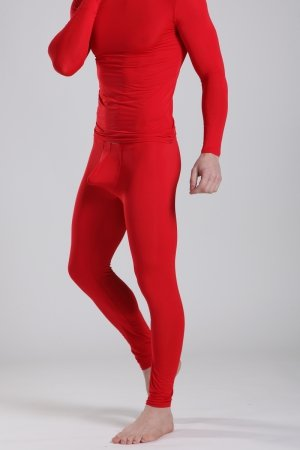 Push Up Long Johns MANVIEW Red