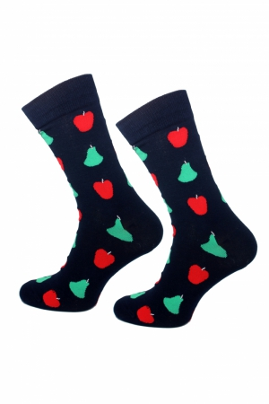 Skarpety Supa! Sox! Navy Fruits #195 (AM0195)