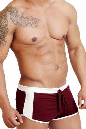 Luźne bokserki WJ 308 Brown Trunks