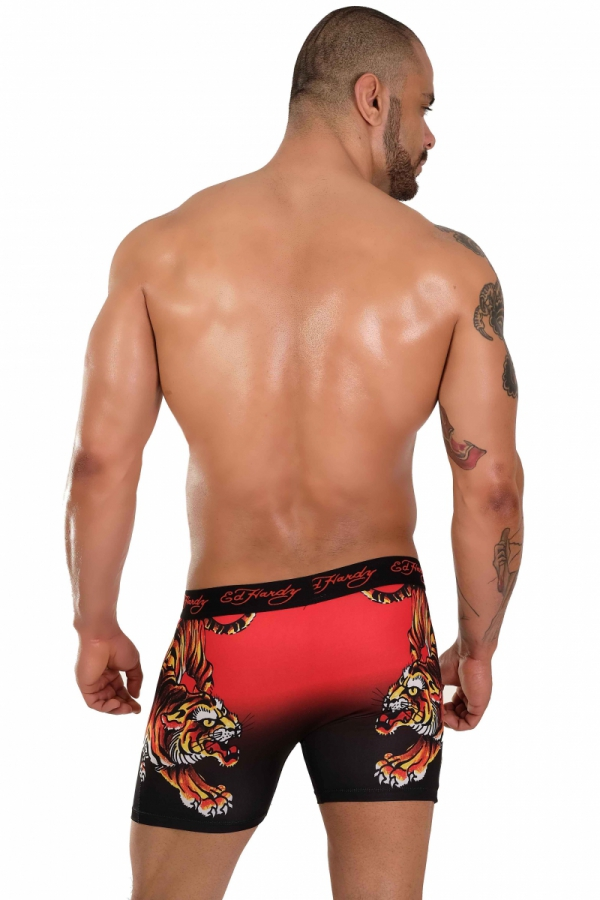 Boxerky Ed Hardy Red Tiger