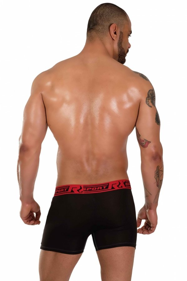 Boxerky RX SPORT Technic Black+Red