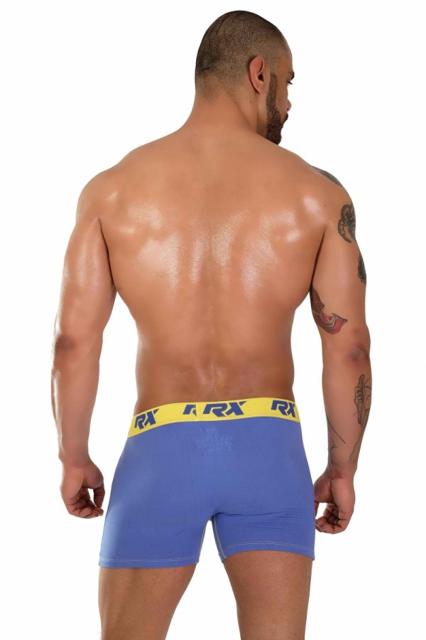 Boxerky RX SPORT Ultra Blue+Yellow