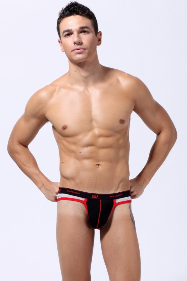 Jock Strap WJ 7days Black (Friday)