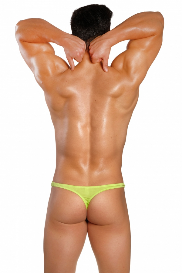 Panska Tanga GMW LITE Pop Lime Green