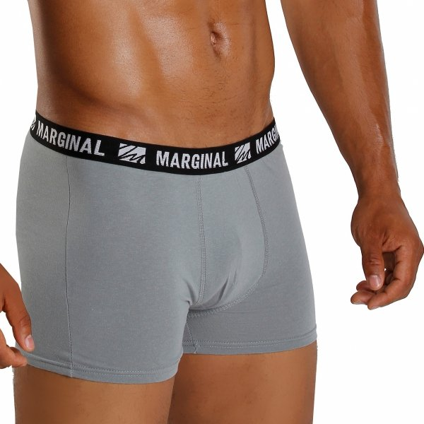MARGINAL Classic Dark Grey Boxer Briefs