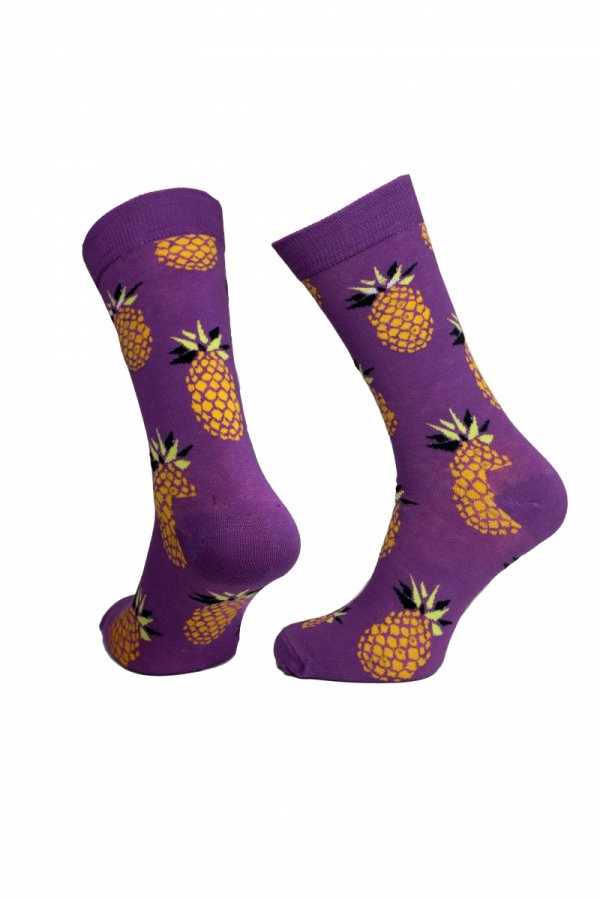 Skarpety Supa! Sox! Purple Pineapple (AM0015)