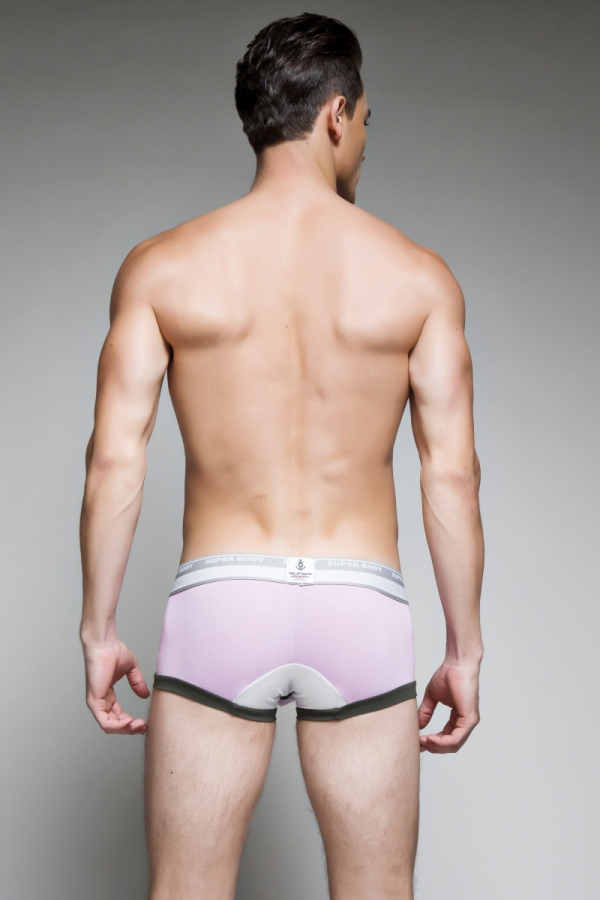 Bokserki męskie SuperBody Short Rhino Purple