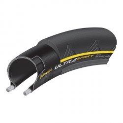 Opona Continental Ultra Sport II 700 x 23C [23-622] Czarno/żółty Zwijana