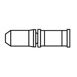Pin łańcucha Shimano (50szt) CN7700/HG93/HG73/HG53 9rz
