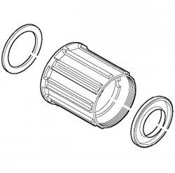 Główka kasety 8/9rz. Shimano Deore FH-M595/M529