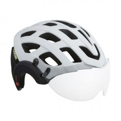 Kask E-Bike Lazer Anverz Mat White S +LED