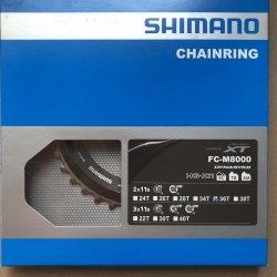 Tarcza mechanizmu korbowego Shimano Deore XT FC-M8000-2 36T-BC (do 36-26T)