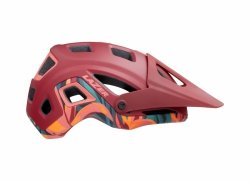 Kask Lazer Impala Matte Red Rainforest roz.S