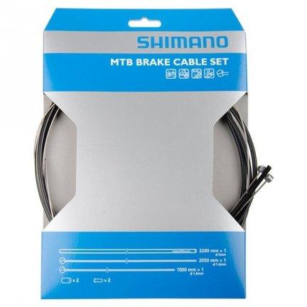 Linka MTB hamulca Shimano tył 1400x1600mm z pancerzem