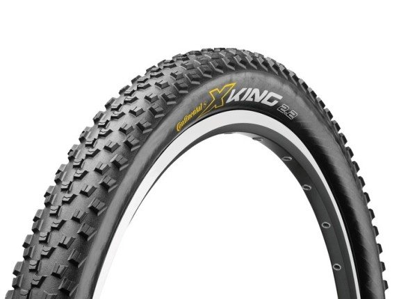 Opona Continental X-King Protection 26x2.2 Czarna Zwijana 570g
