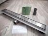 BWTECH - Odpływ liniowy 2w1 NEMO POSADZKOWY do wklejenia płytki lub gładka maskownica ROZMIARY 50-200cm!!