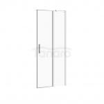 CERSANIT - Drzwi na zawiasach kabiny prysznicowej moduo 80 x 195 PRAWE  S162-004