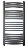 GAMABIK - Grzejnik łazienkowy KUMIKO 1350/540 ANTRACYT moc 606W
