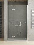 NEW-TRENDY drzwi prysznicowe wnękowe pojedyńcze REFLEXA