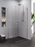 NEW TRENDY Kabina prysznicowa SUPERIA drzwi uchylne 90x80x195 K-0799