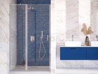BESCO Drzwi wnękowe prysznicowe uchylne EXO-C 120cm EC-120-190C