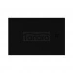 NEW TRENDY - Brodzik Konglomeratowy ze strukturą kamienia naturalnego MORI/czarny 120x80