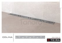 TEIRA - Odpływ liniowy COLINA z syfonem