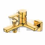 INVENA - Bateria wannowa GLAMOUR złota  BW-02-009-V
