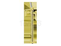 VEDO -  Bateria wannowa wolnostojąca DESSO ORO złoto  VBD4008/ZL