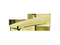 VEDO -  Wylewka wannowa ścienna - 155mm DESSO ORO złoto  VBD4033S/ZL