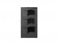 VEDO - Bateria termostatyczna podtynkowa 3 wyjścia SQUARE III 6730JCZ