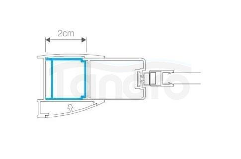 NEW TRENDY - Profil poszerzający NEW SOLEO / NEW RENOMA + 2cm